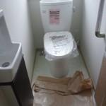 上棟40日目 トイレと、無事に!?ついた手洗い器
