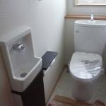 上棟47日目 トイレのその後と、お風呂のスイッチ