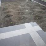 台風直前に!クラピア植えました&旦那の開墾奮闘記