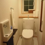 Web内覧会4 我が家のトイレは一カ所です