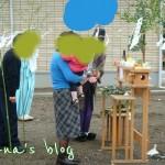 気が付いたら地鎮祭~着工から一年(^-^;