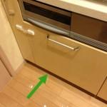 一条キッチン  IH下の収納   ギリギリ攻める