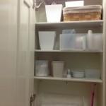 行って来ました無印SALE!そして洗面台収納の中へ。